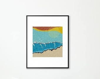 Sunrise I Print