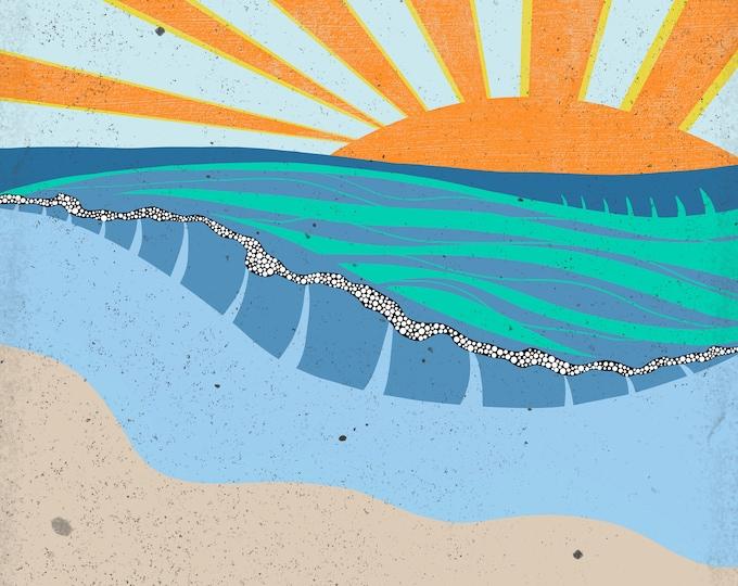 Sunrise IX Print