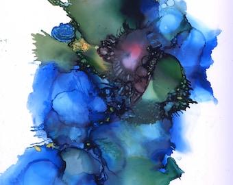 Deep Blue Sea Print