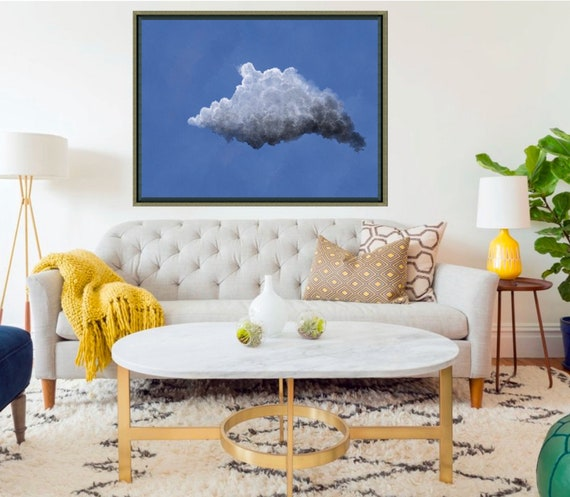 Large Cloudscape Painting: No. 3