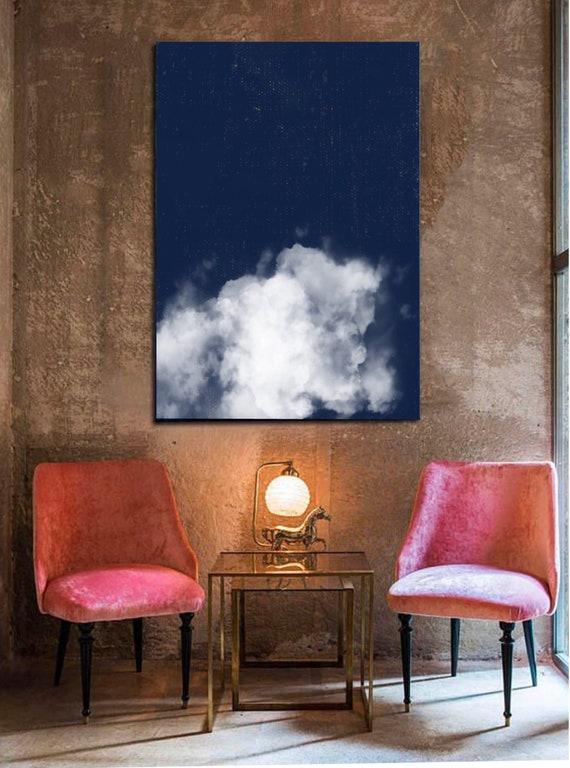 Large Cloudscape Painting: No. 4
