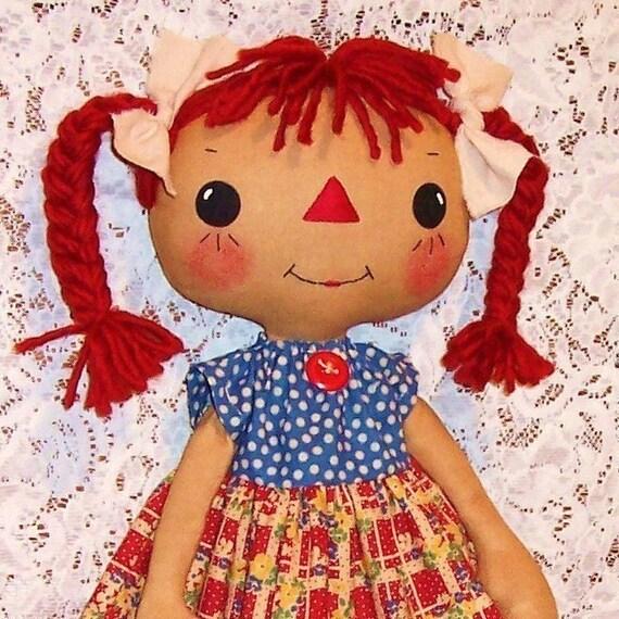 Stoffpuppe Muster Schnittmuster Rag Doll Muster PDF | Etsy