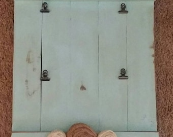 Wood farmhouse style Picture Board