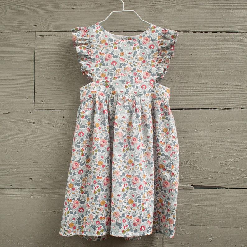 11553528804 Robe chasuble fille   enfant en bas âge chasuble robe   robe