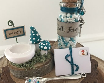 Tooth Fairy Kit - Teal