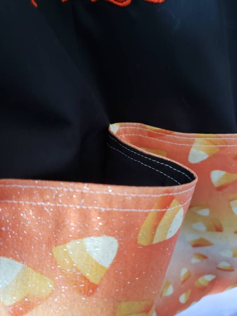 Bag Corn to be Wild Candy Corn Halloween Eco Friendly Tote Purse