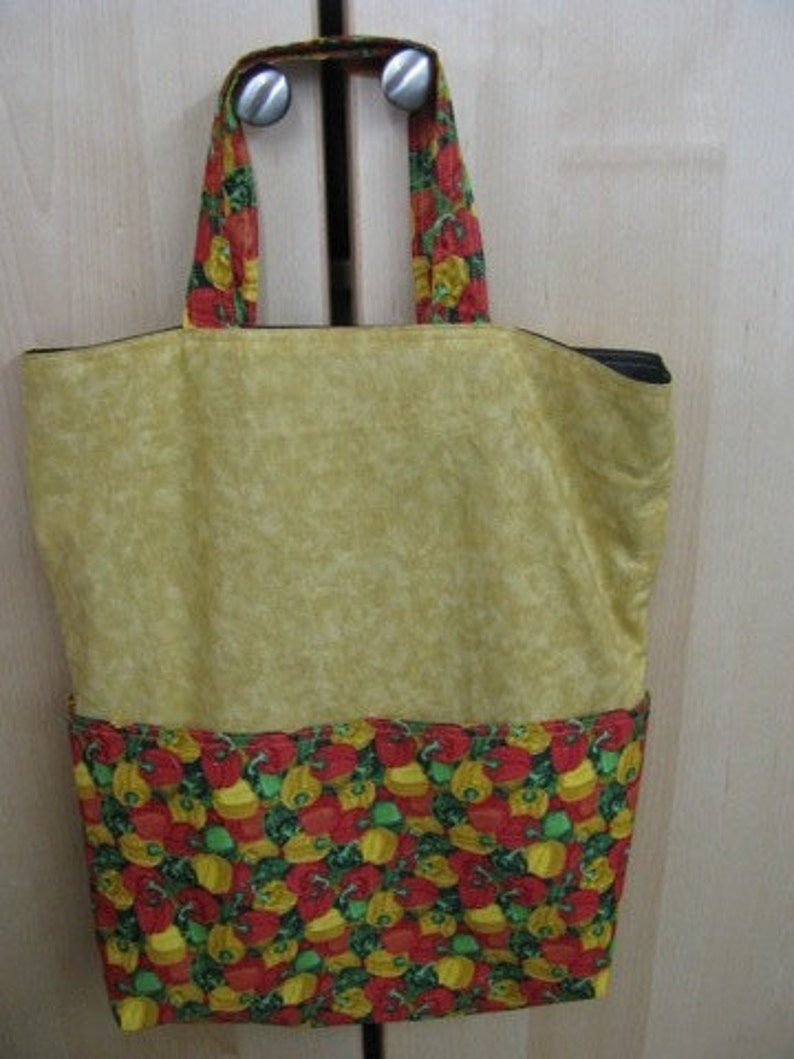 Bell Peppers Eco Friendly Bag Market Tote or Purse Tote