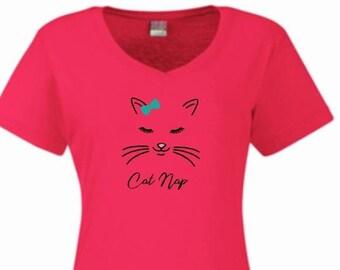 Cat night shirt d0fae4694