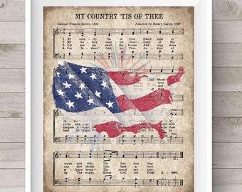Digital Download Red White Blue Americana My Porch Prints Printable Army Vintage 4th of July Junk Journal Kit Patriotic America