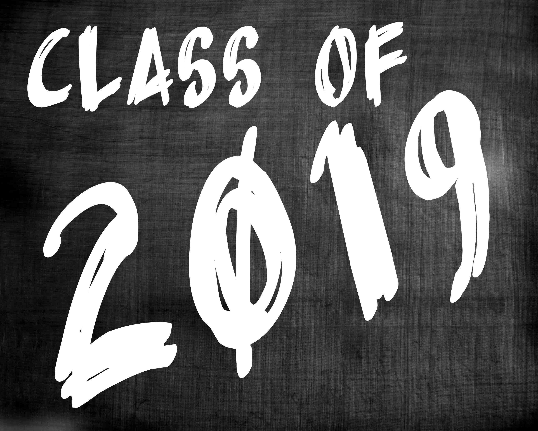 class of 2019 graduation sign senior pictures photo prop print