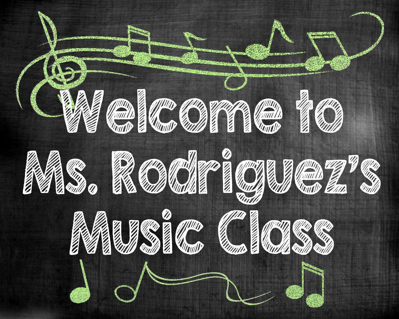 teacher name sign music class sign for door school chalkboard sign