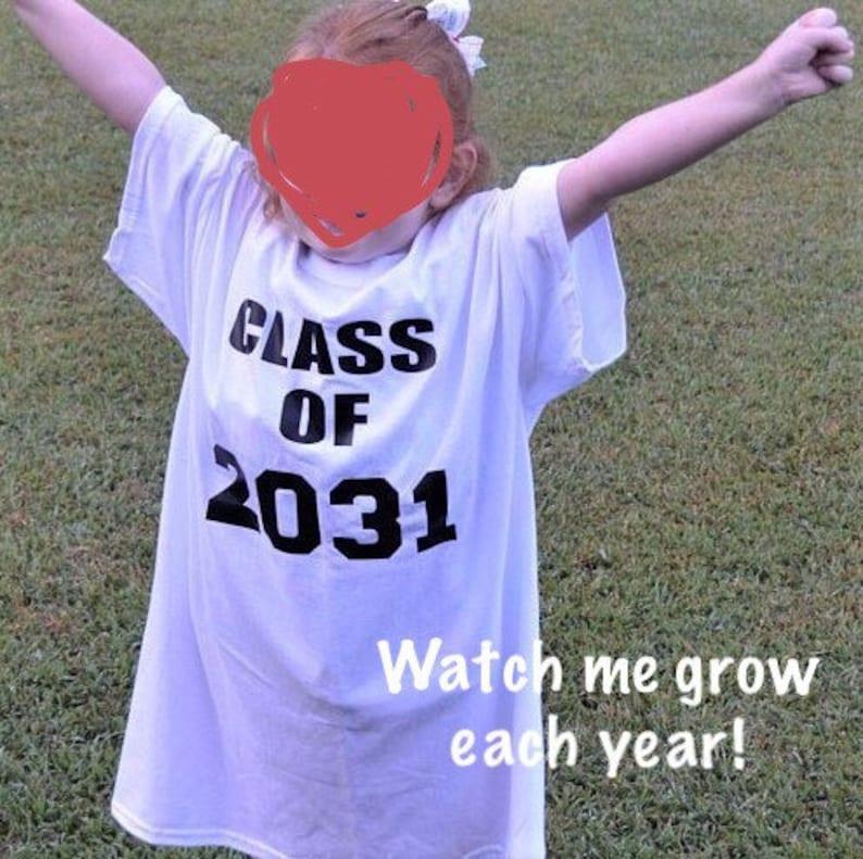 112a3f4c87 Class of 2031 shirt kindergarten shirt first day of school