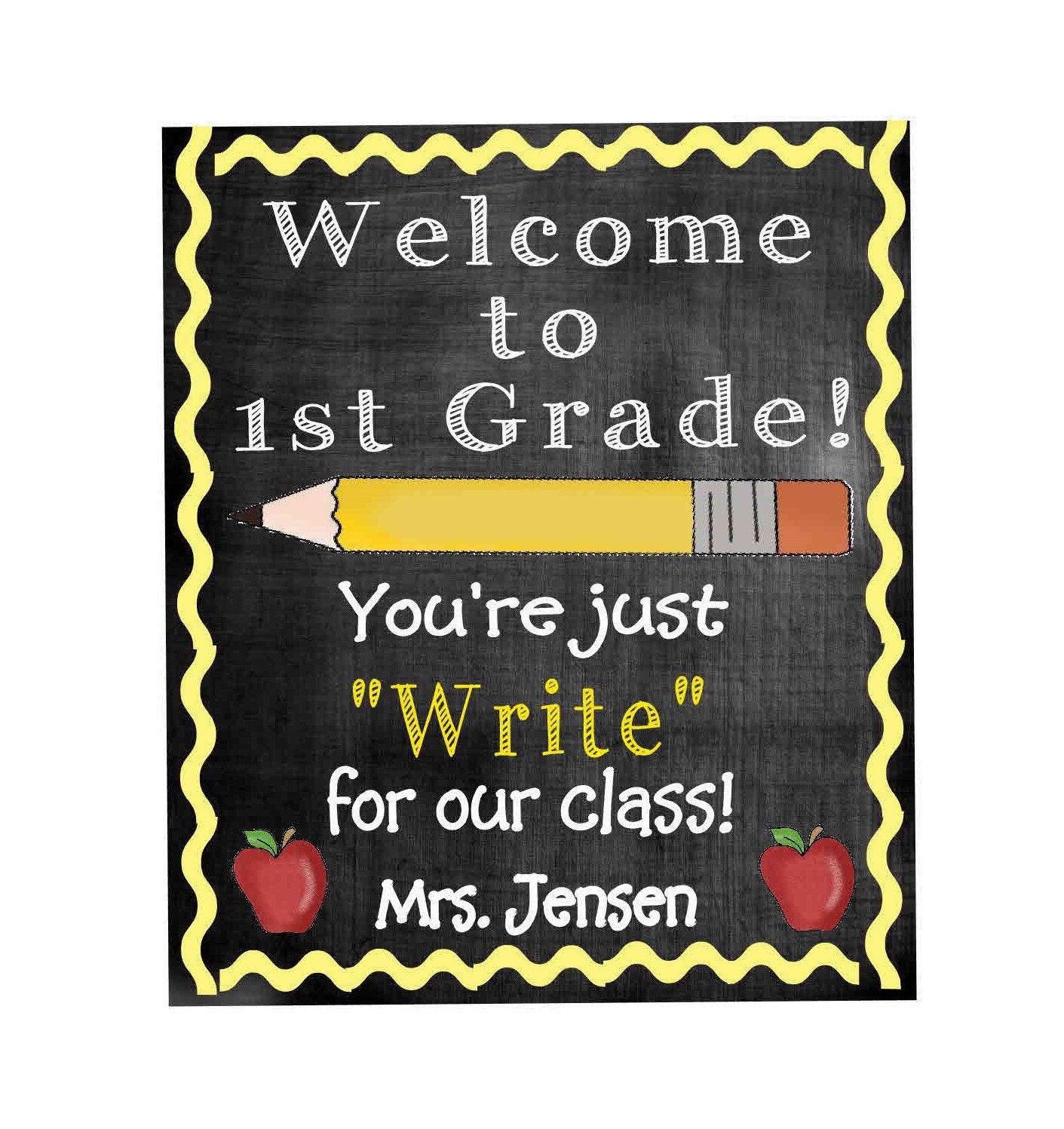 Student Gifts From Teacher Gift Tag Printable Pencil Gift Tag