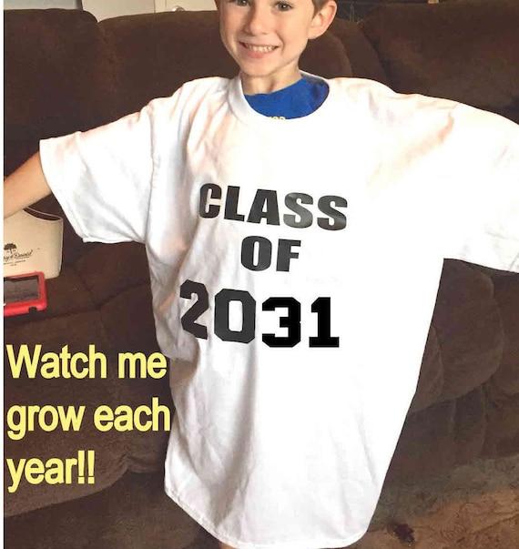 Class of 2031 shirt kindergarten shirt first day of school   Etsy