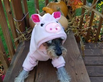 Dog Pig Costume, Pet Pig Costume Halloween Pig costume, Couples Costumes, Farm Costume