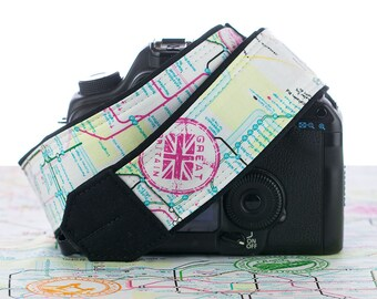 Map Camera Straps