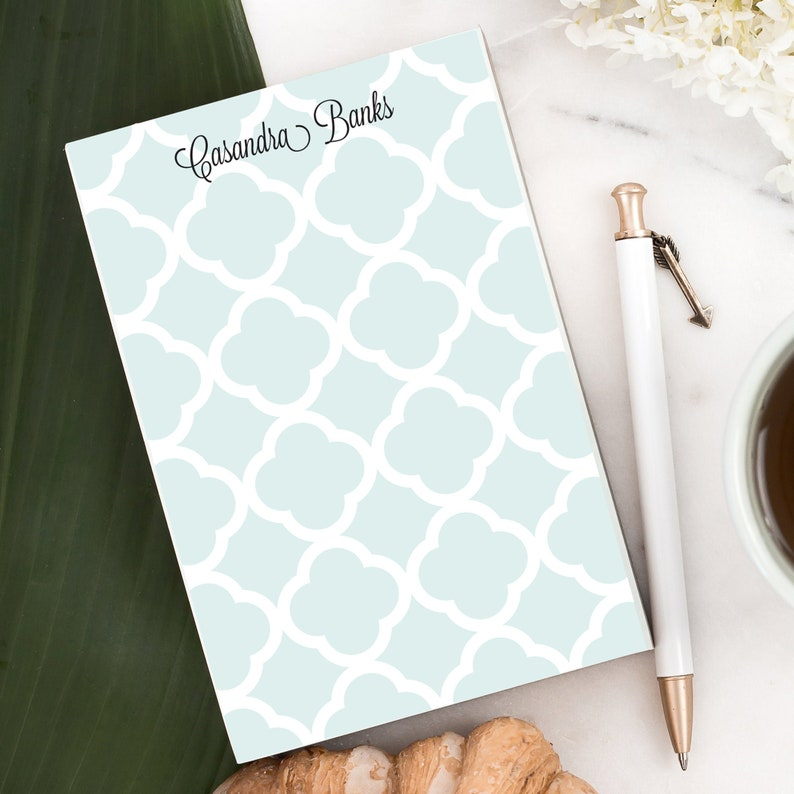 Personalized Notepad Letter writing pad Custom note pad  image 0