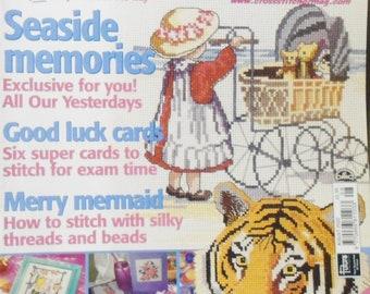 Britain's No. 1 Cross Stitcher Magazine August 2000 Issue 98