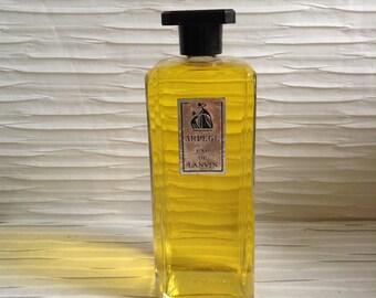 Arpege, Eau De Lanvin, FACTICE.  Paris.  FULL Dummy.  Vintage 1960. No Parfum, No Perfume.