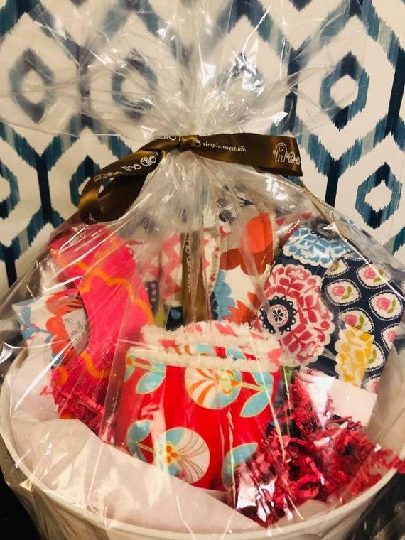 Phoebe Blanket, Bib and Burp Cloth Gift Set (Girl)