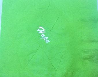 Awareness napkins  - set of 25