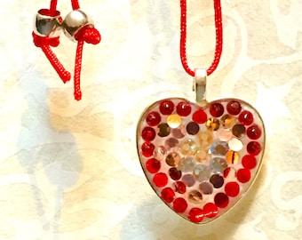 Red Valentine Pendant