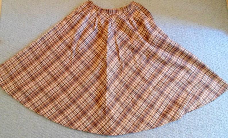 fc1784900663 1960 s women s wool skirt vintage skirt size 14