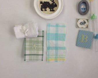 dollhouse miniature Baby set