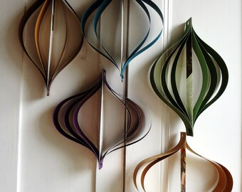 Home Decor: Mid Century Modern Decorations, Earth Tones, Vintage Upcycled Books