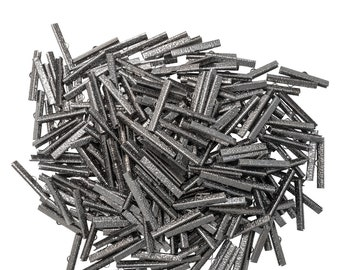 500 pieces 40mm (1 9/16 inch) Ribbon Clamps Artisan Series -- Platinum Silver, Gold, Gunmetal, Antique Bronze, Antique Copper