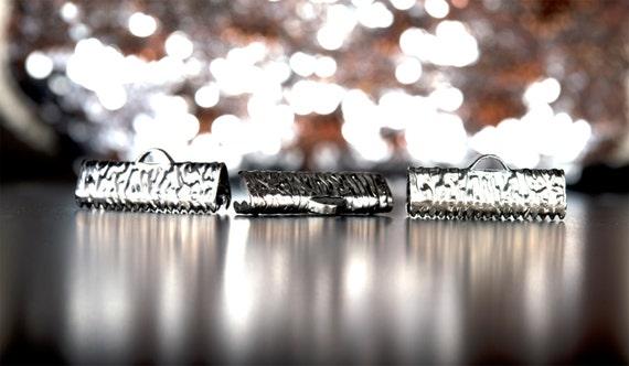 500 500 500 pièces - 20mm ou 3/4 pouce platine argent ruban pinces - série Artisan 65a027