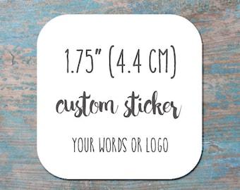 Custom Sticker And Tag