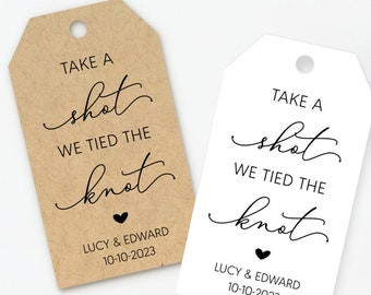 take a shot we tied the knot,Thank You tags alcohol tags shot Favor Tags 2Lx1wWedding tags Favor tags Shower Favor Tags Gift tags