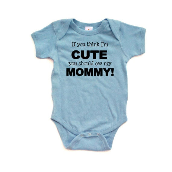 Unisex If You Think Im Cute You Should See My Uncle Long Sleeve Baby Vests