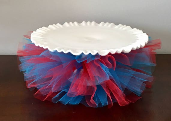 Party Decor Cake Plate Tutu Stand Dr Suess
