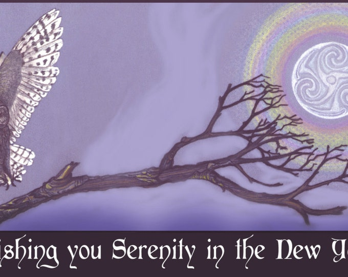 Wishing you Serenity in the New Year ~ on sale