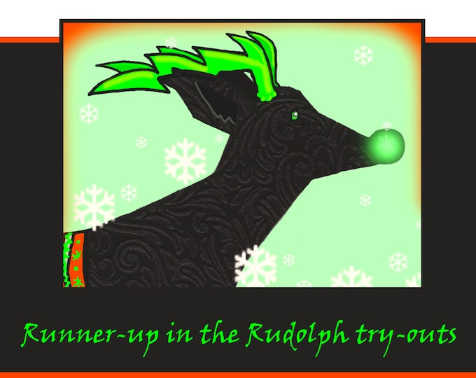 Runner-up in the Rudolph try-outs