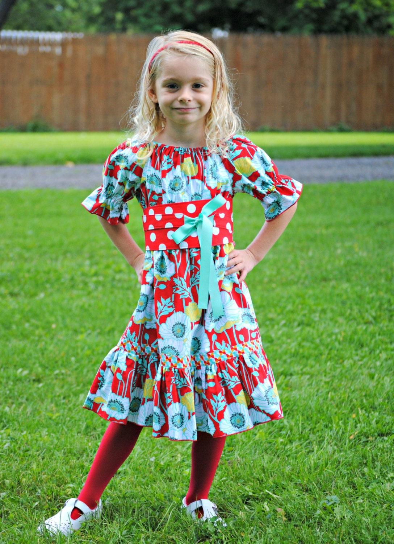 Mädchen Bauer Kleid Mädchen Kleider bäuerliche Kleidung | Etsy