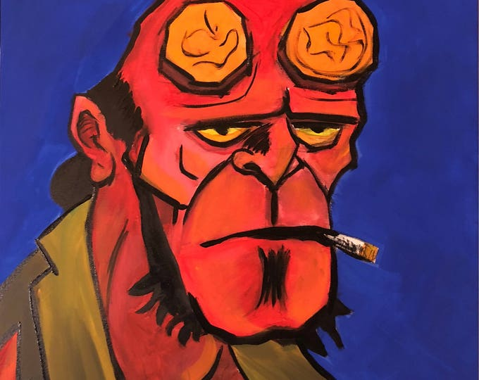 Hellboy (2017) by Mark Redfield