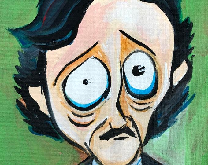 Edgar Allan Poe, Himself (2020) by Mark Redfield