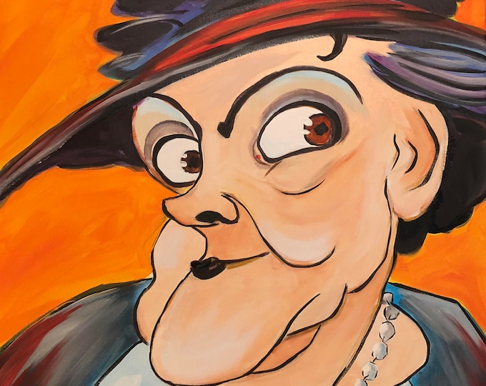 Marie Dressler (2017) by Mark Redfield