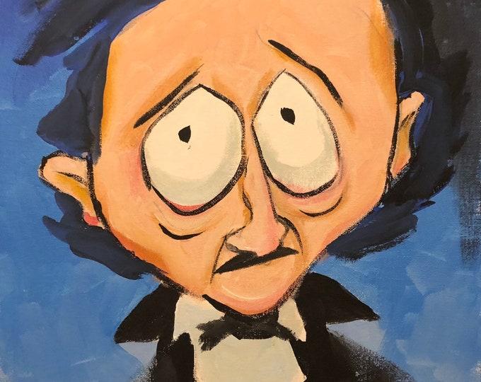 Mr Poe of New York by Mark Redfield