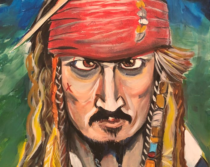 Captain Jack Sparrow (2017) by Mark Redfield
