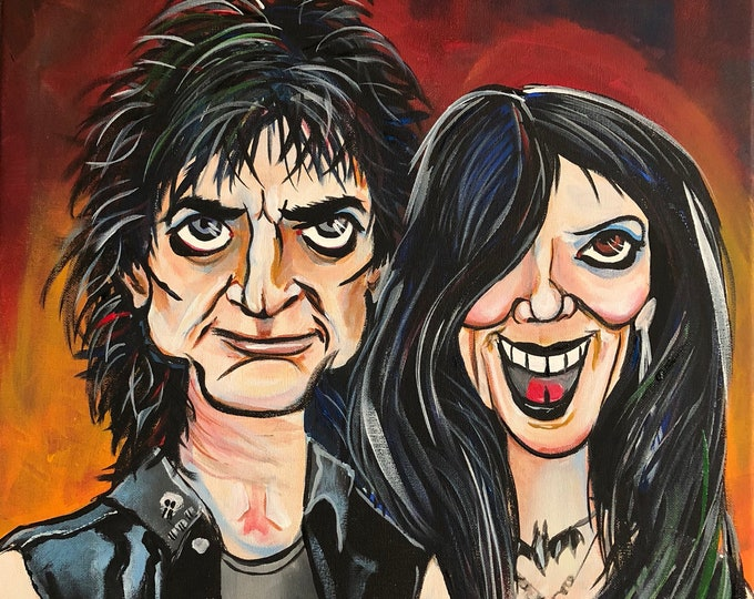 The UnDead Bobby Steele and Diana Steel (2018) by Mark Redfield