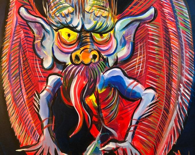 Technicolor Devil (2019) by Mark Redfield