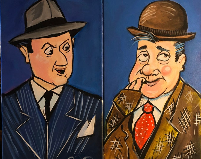 Abbott and Costello (2016) by Mark Redfield