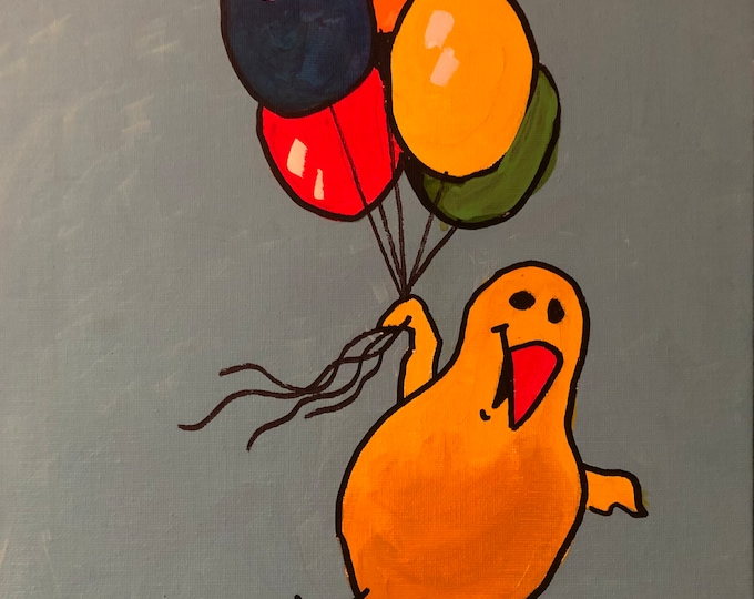 Peep With Balloons (2011) by Mark Redfield