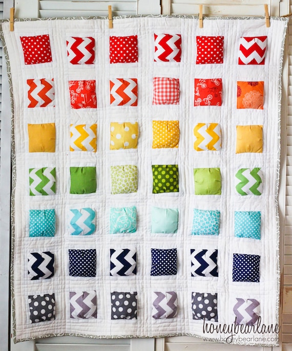 Puffy Island Make A Puff Quilt Pattern PDF File Etsy Simple Puff Quilt Patterns