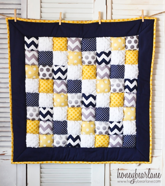 How To Make A Puff Quilt Pattern Pdf File Etsy