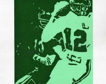 ON SALE! Randall Cunningham, Quarterback of the Philadelphia Eagles (artist print)
